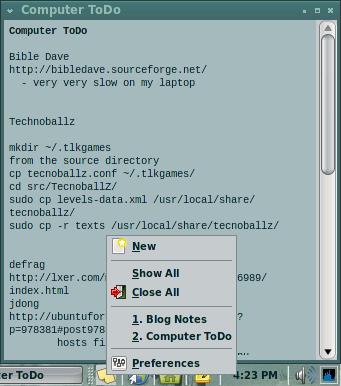 Xpad screen