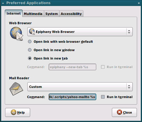 set email client