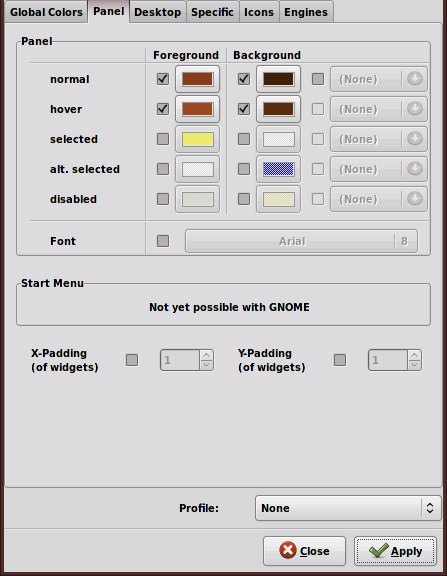 Gnome Panel Font Color Part Deux