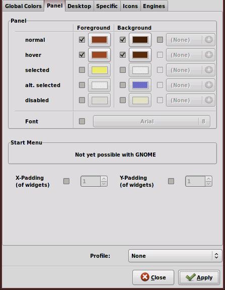 Gnome Panel Font Color Part Deux