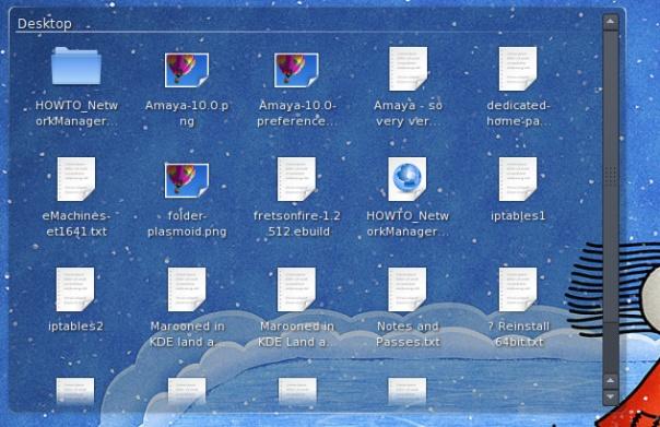 Folder Plasmoid