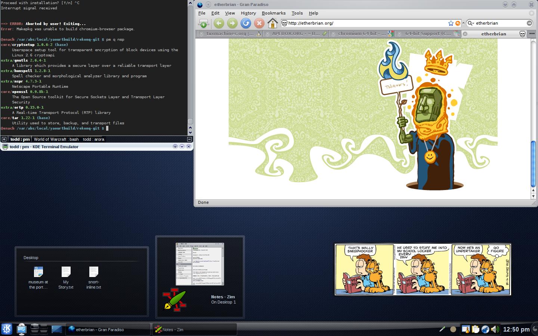 KDE 4 2 2 Desktop Theme